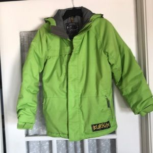 Burton Dry Ride Jacket Boys Large (10-12)